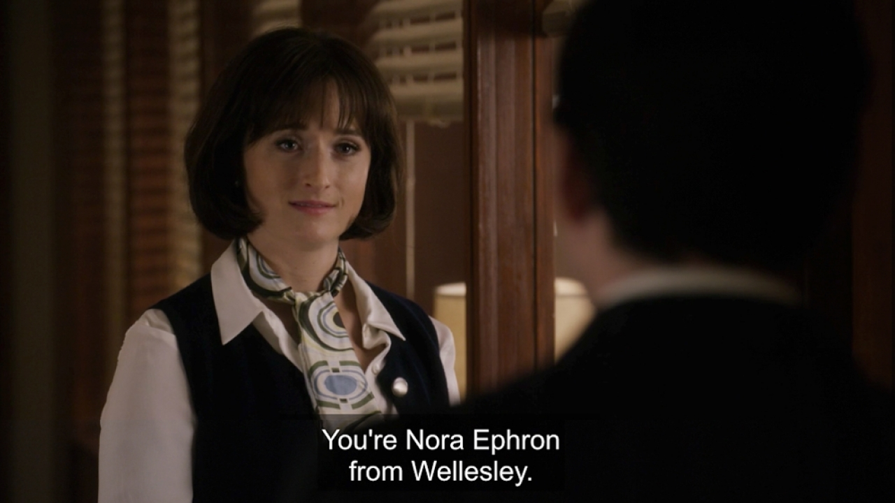 """Amazon's """"Good Girls Revolt"""" Highlights Nora Ephron '62's Role as a leader for Women in Journalism"""