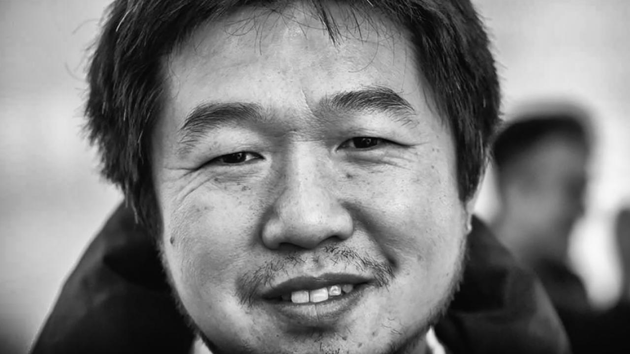 A photo of Wang Bing