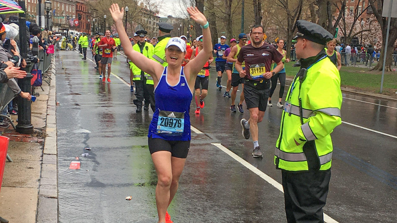 Daphne Matalene  running