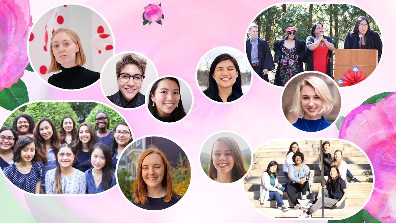 Camellia Student Leadership Award recipients