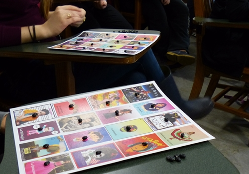 Playing Lotería in Class