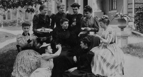 Archival Photo of Wellesley Student life