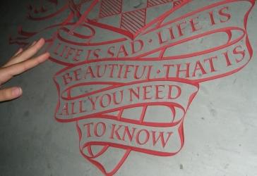 Nabokov door motto, Tower Court