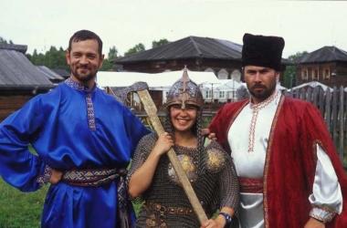 Tori and Cossacks at Lake Baikal