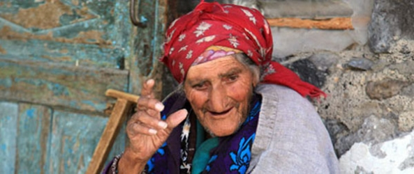 elderly Djavakh woman
