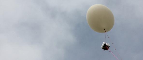 Instrumented high-altitude balloon